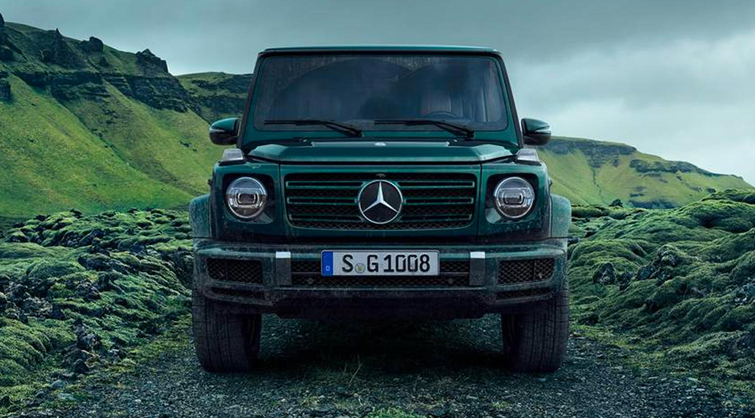 G-Class Stronger than time